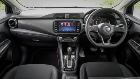 2021 Nissan Almera 1.0L Turbo V Sportech CVT ราคารถ, รีวิว, สเปค, รูปภาพรถในประเทศไทย | AutoFun