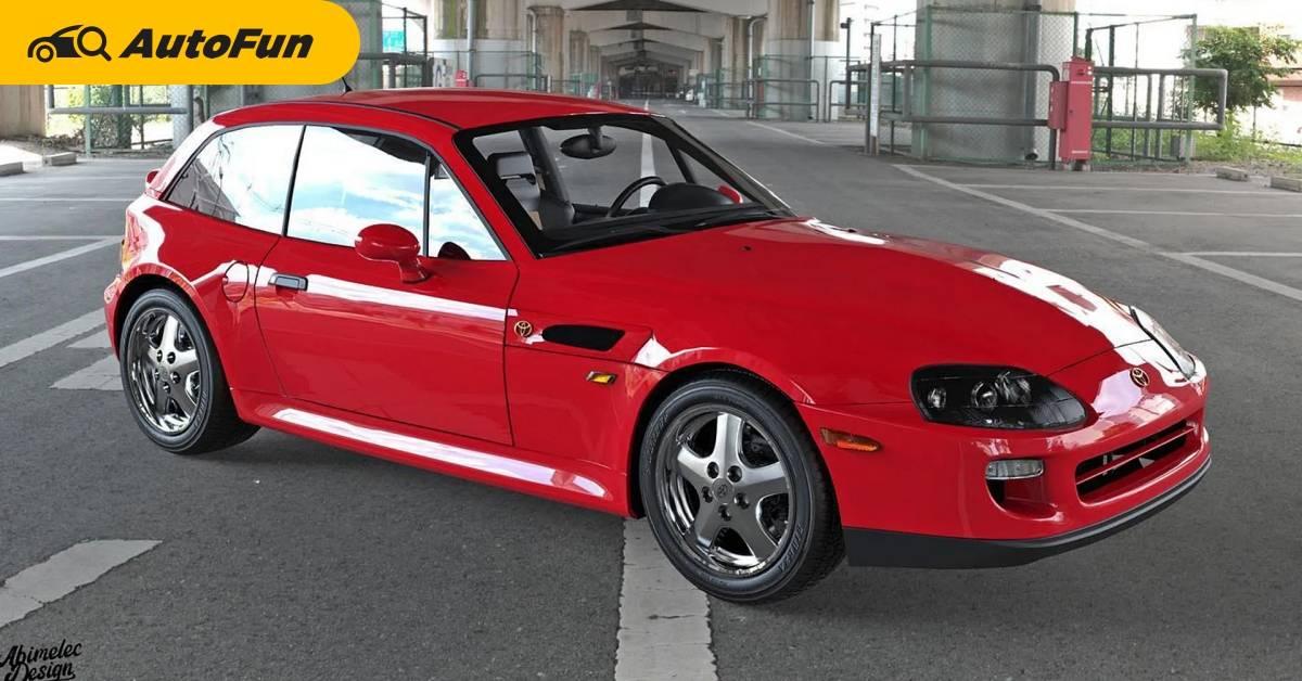 เหตุผลเดียวที่ Toyota Supra JZA80 ไม่ควรตัดต่อเข้ากับ BMW Z3 Coupe คือมันไม่สวยสักนิด 01