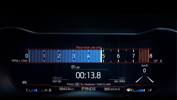 Ford Mustang 2020 Interior 004