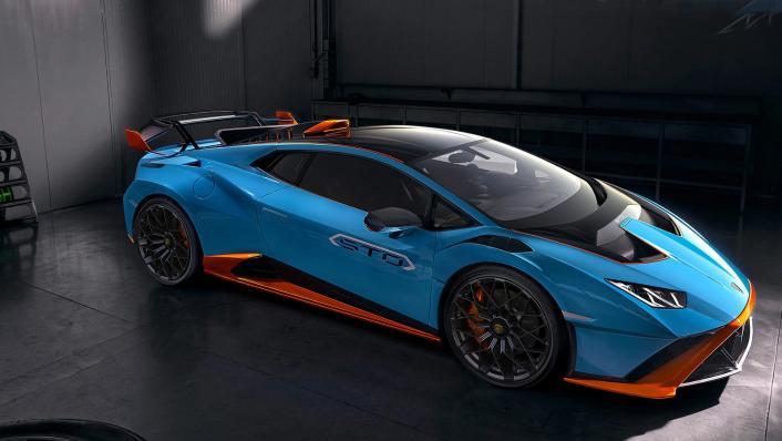 2021 Lamborghini Huracan STO Exterior 005