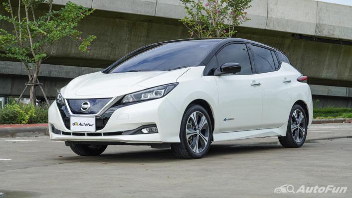 2020 Nissan Leaf Electric Exterior 001