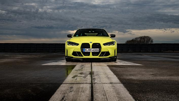 2021 BMW M4 Coupe Competition Exterior 009