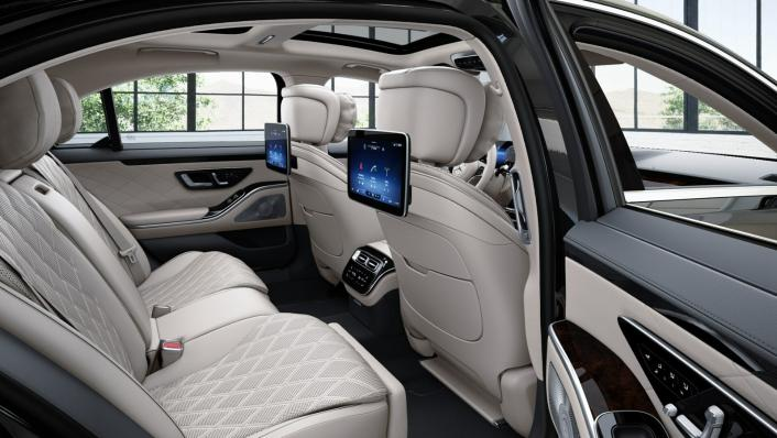 2021 Mercedes-Benz S-Class S 350 d Exclusive Interior 004