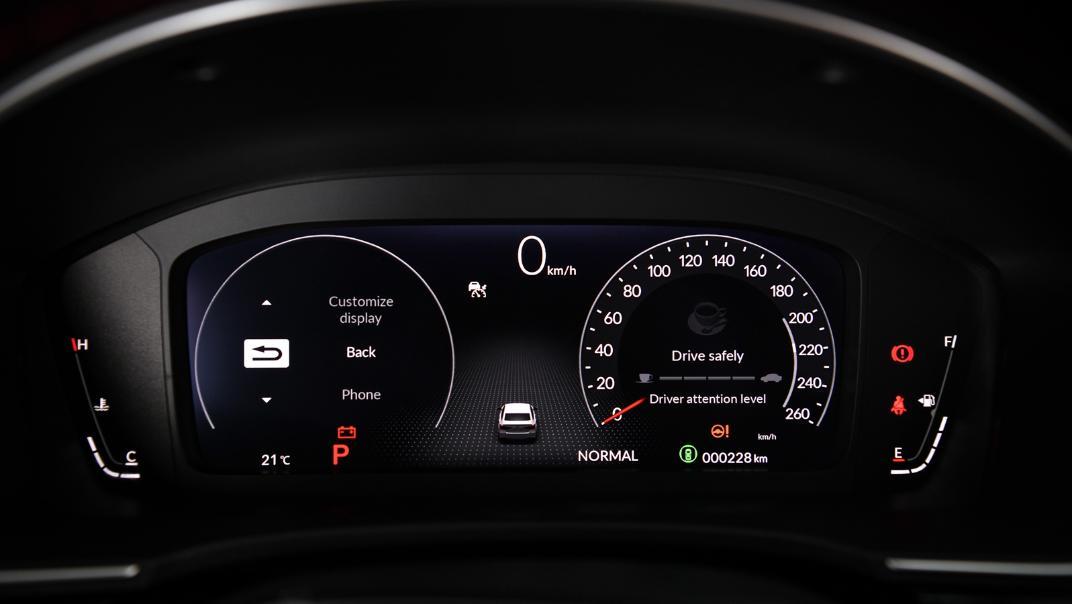 2022 Honda Civic RS Interior 019