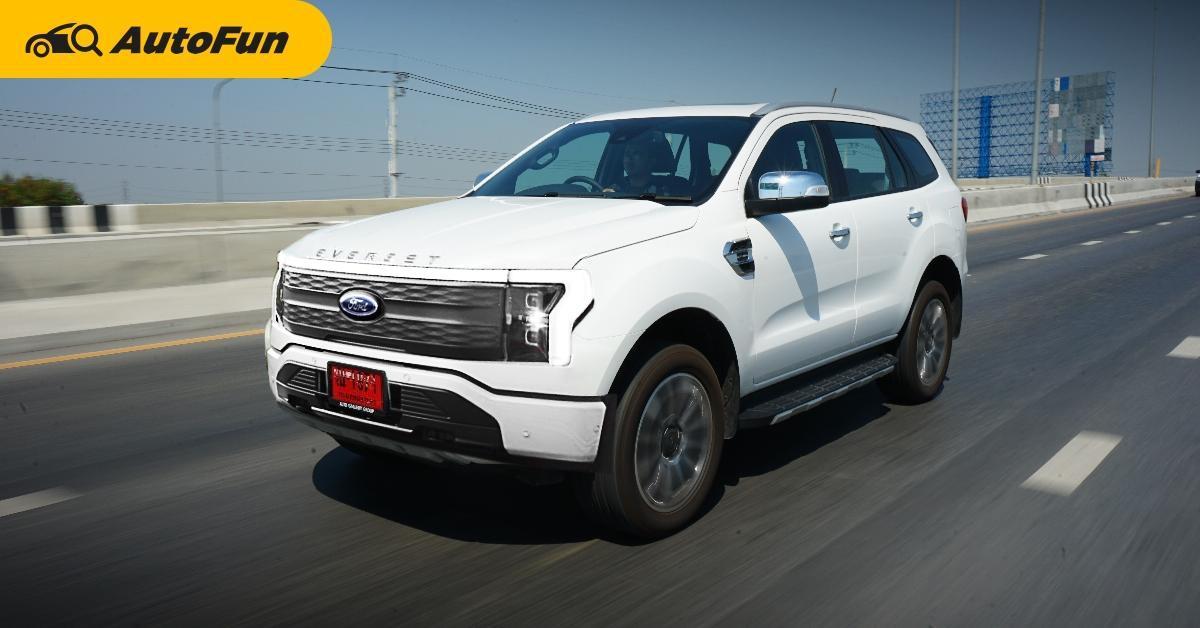 Rendered : 2022 Ford Everest EV รถอเนกประสงค์ไฟฟ้าล้วน อาจใช้พลังกระบะ F-150 Lightning 01
