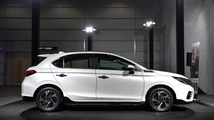 2021 Honda City Hatchback 1.0 Turbo SV Exterior 002