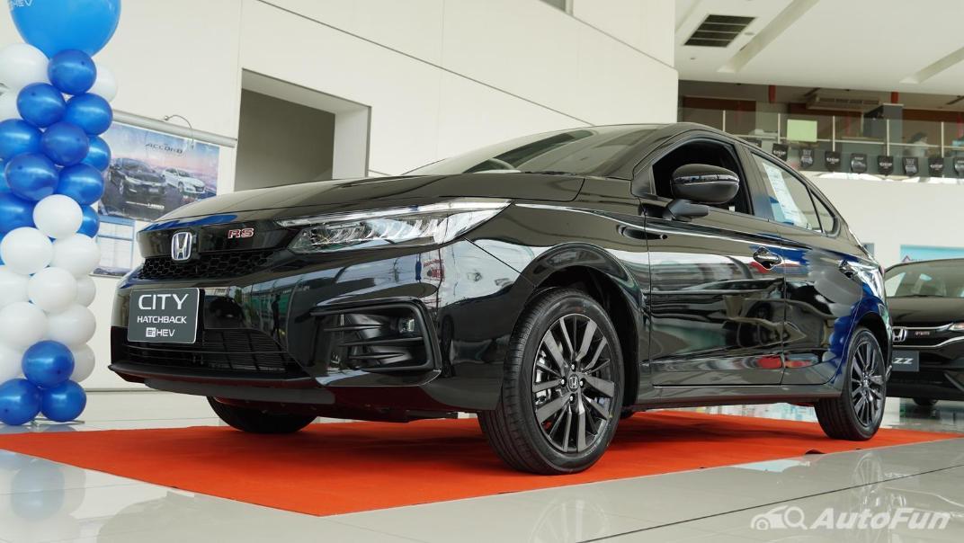 2021 Honda City Hatchback e:HEV RS Exterior 049