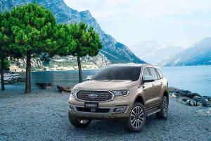 2021 Ford Everest รถพีพีวีเครื่องยนต์ดีเซล 2.0 ลิตรพลัง Turbo ด้วยราคาเริ่มต้น 1.299 ล้านบาท