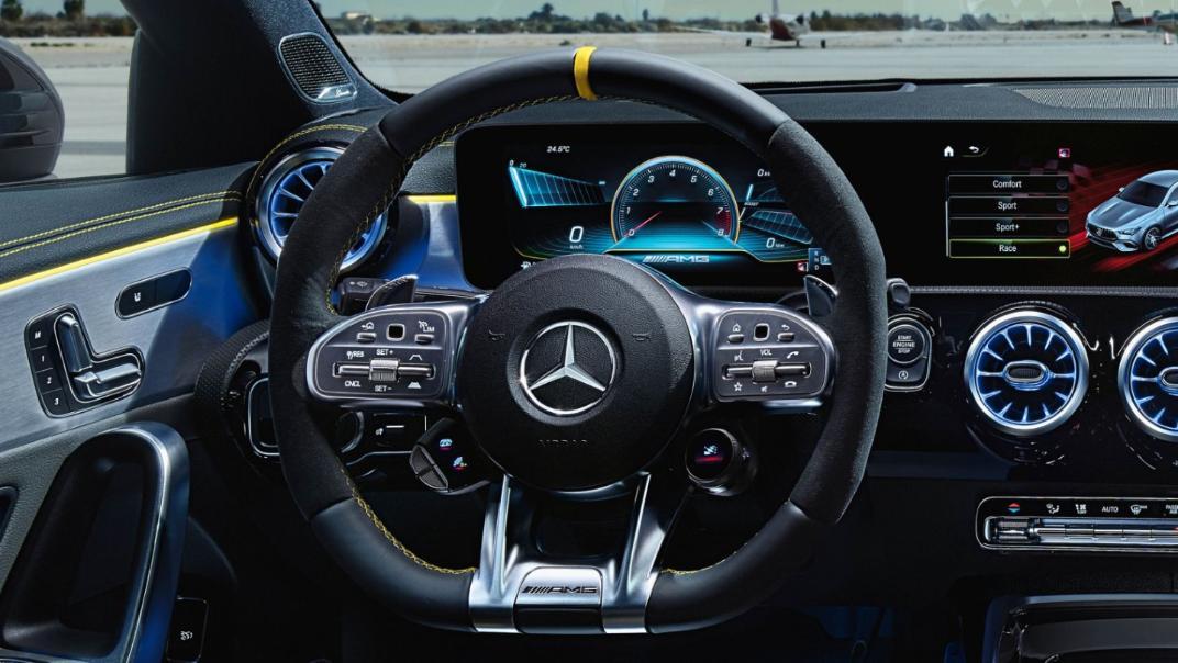 Mercedes-Benz CLA-Class Public 2020 Interior 005
