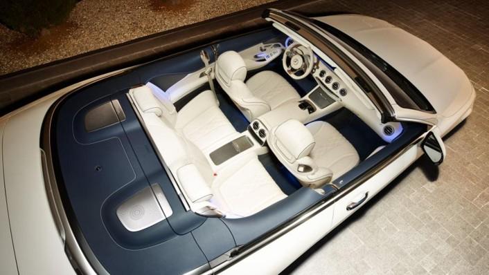 Mercedes-Benz S-Class Cabriolet 2020 Interior 001