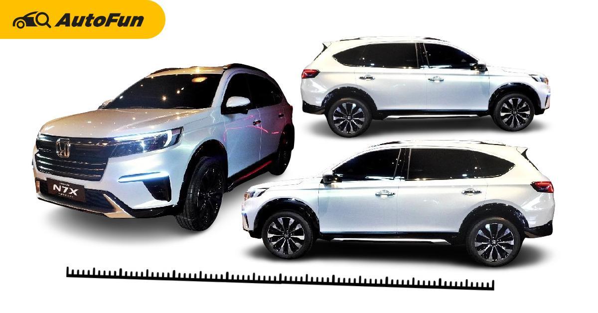 2022 Honda N7X เผยข้อมูลตัวถัง สูงและยาวกว่า BR-V คาดราคาเริ่ม 7.6 แสนบาท 01