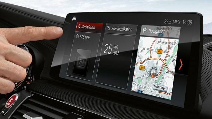 BMW M5-Sedan 2020 Interior 007