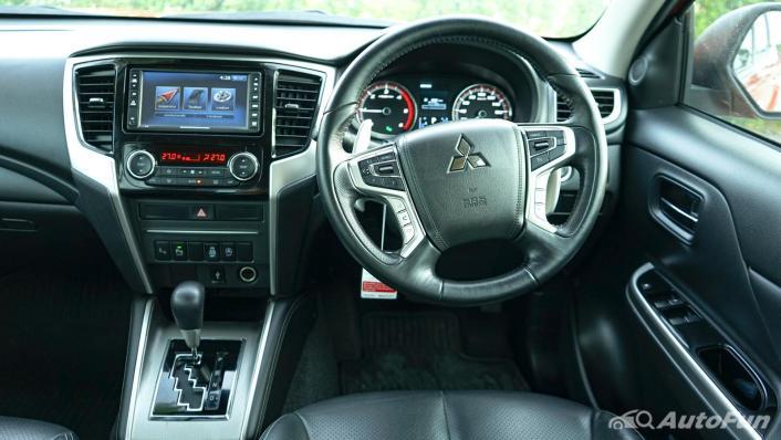 2020 Mitsubishi Triton Double Cab 4WD 2.4 GT Premium 6AT Interior 002