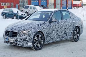 Spyshot 2021 Mercedes-Benz C-Class W206 ไร้ลายพราง