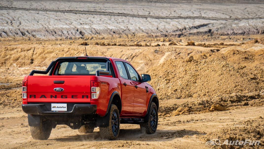 2021 Ford Ranger FX4 MAX Exterior 044