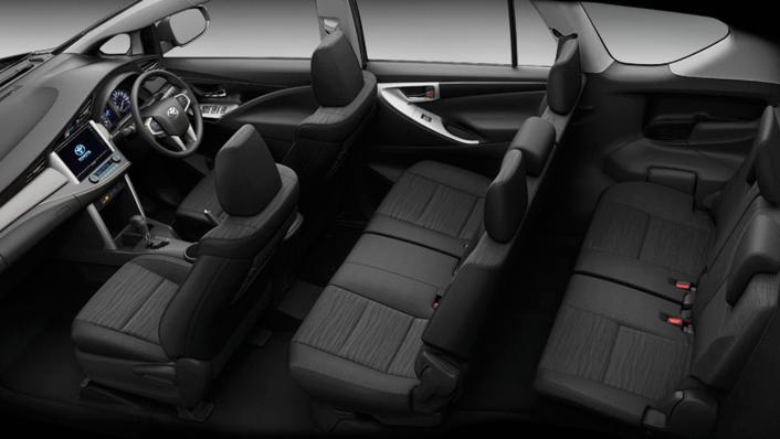 2021 Toyota Innova Crysta Public Interior 010