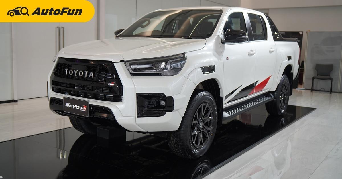2021 Toyota Hilux REVO GR Sport เตรียมขายญี่ปุ่นตุลาคม เพิ่มออพชั่น ราคาต่ำกว่าไทยเสียด้วย!!! 01