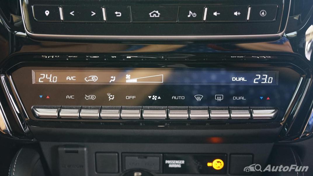 2021 Isuzu MU-X Ultimate 3.0 AT 4x4 Interior 022