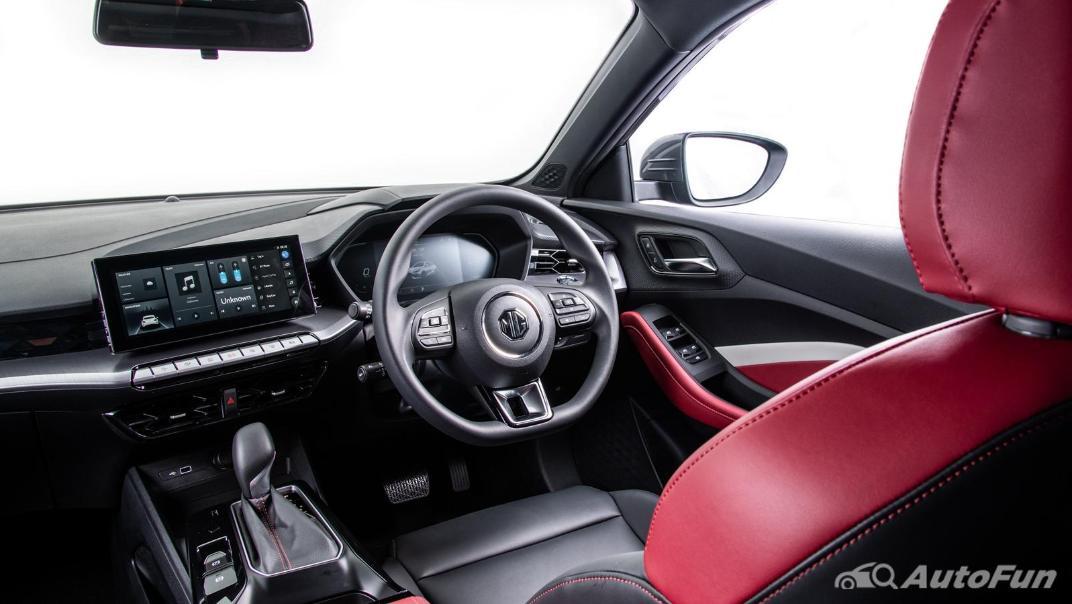 2021 MG 5 Upcoming Version Interior 026