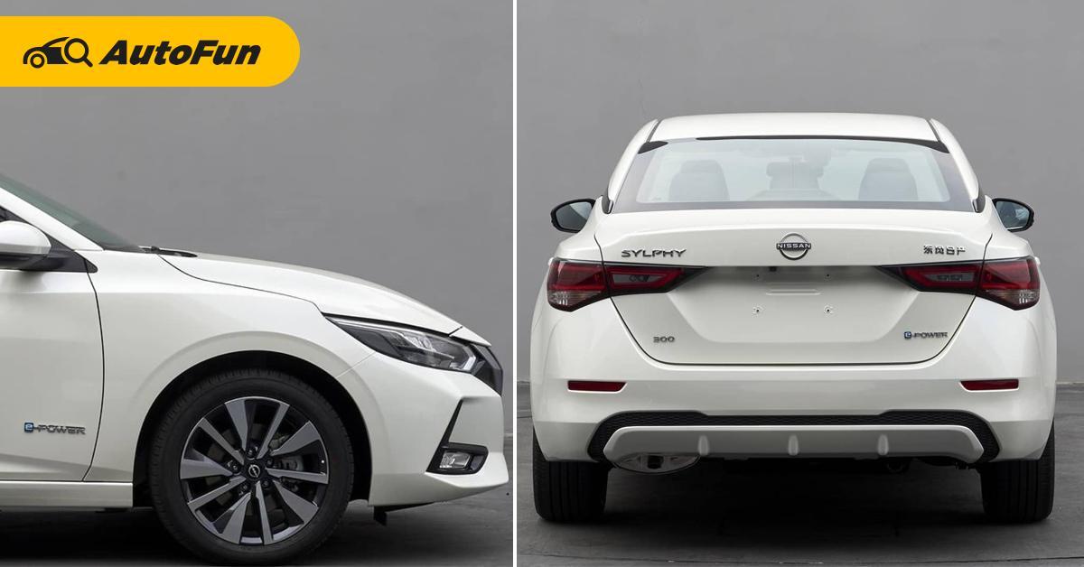 หลุดภาพ 2022 Nissan Sylphy e-Power ลงตัวแบบ Honda Civic ยังต้องระแวง 01
