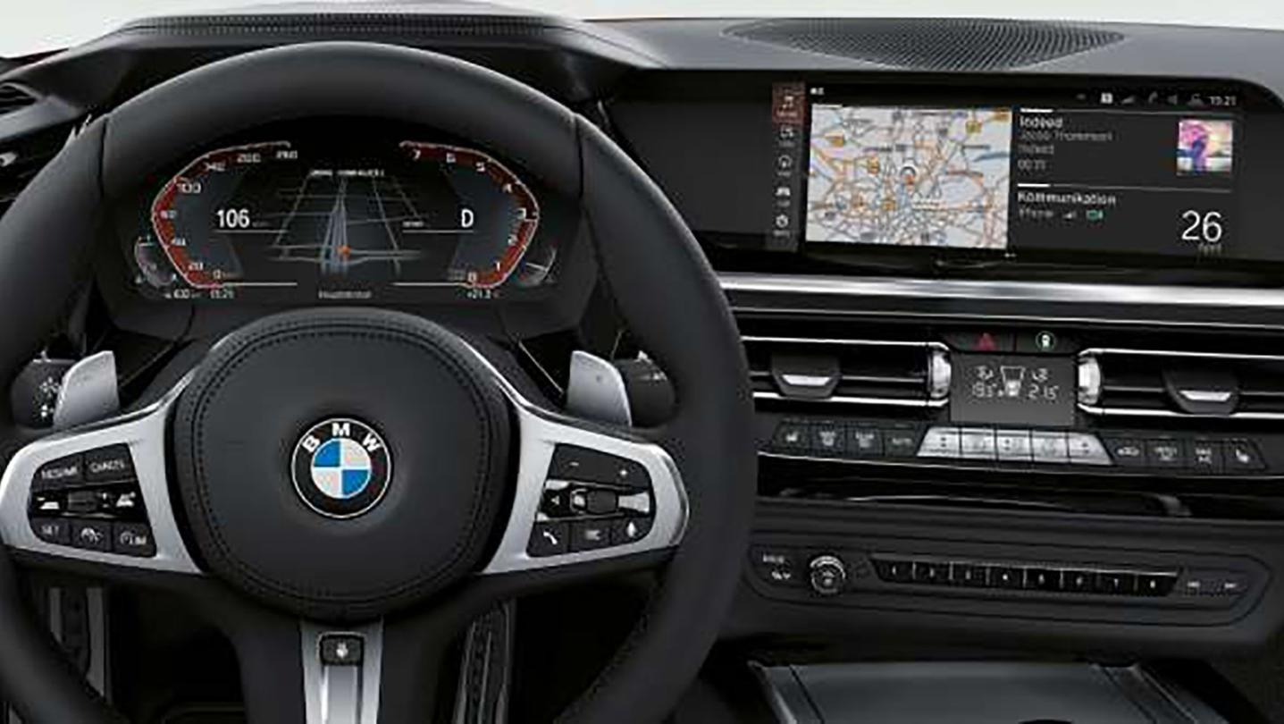 BMW Z4 Roadster 2020 Interior 004