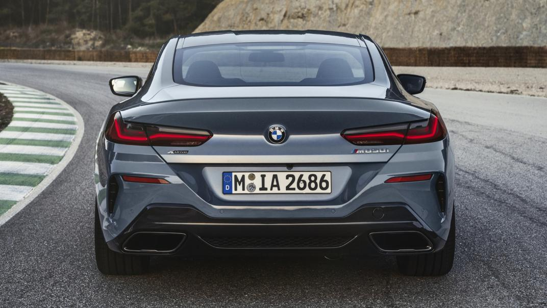2021 BMW 8 Series Coupe M850i xDrive Exterior 002