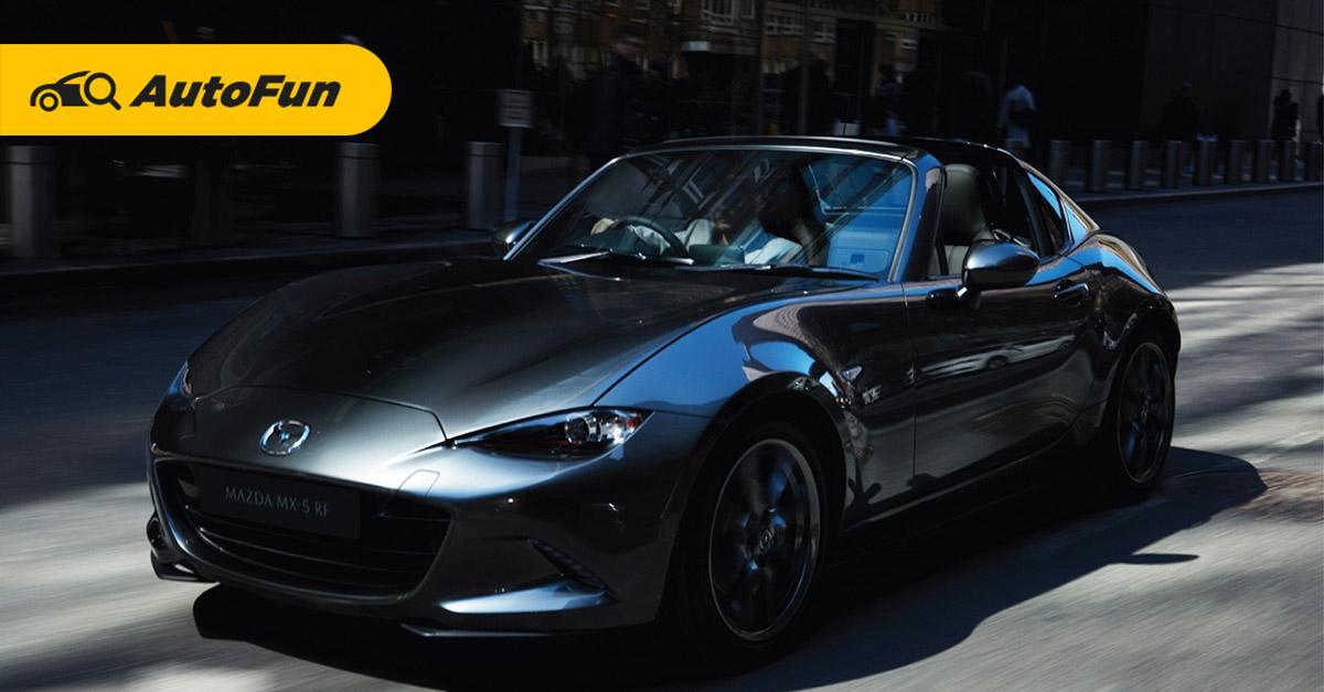 2019 Mazda MX 5 RF และ 2019 Audi TT Roadster คันไหนจะได้เป็นโรดสเตอร์ที่เหมาะสำหรับคุณ 01