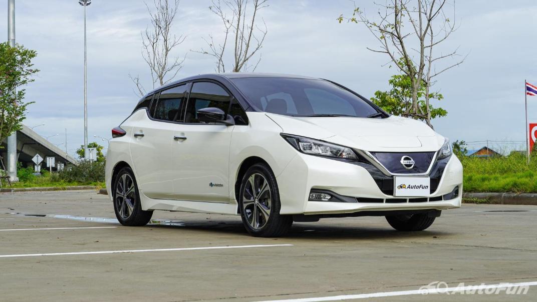 2020 Nissan Leaf Electric Exterior 003
