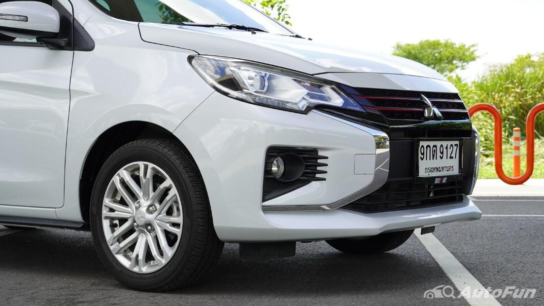2020 1.2 Mitsubishi Attrage GLS-LTD CVT Exterior 013