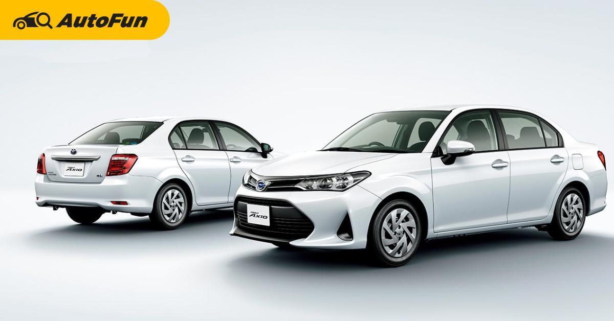 Toyota Corolla Axio ยังขายดีในญี่ปุ่นนาน 9 ปีแล้ว เทียบ Vios พบว่าดีกว่า ลองมาไทยบ้างไหม ? 01