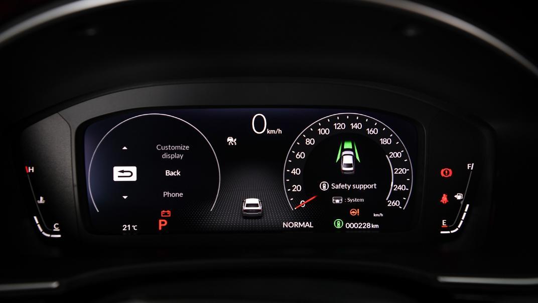 2022 Honda Civic RS Interior 022