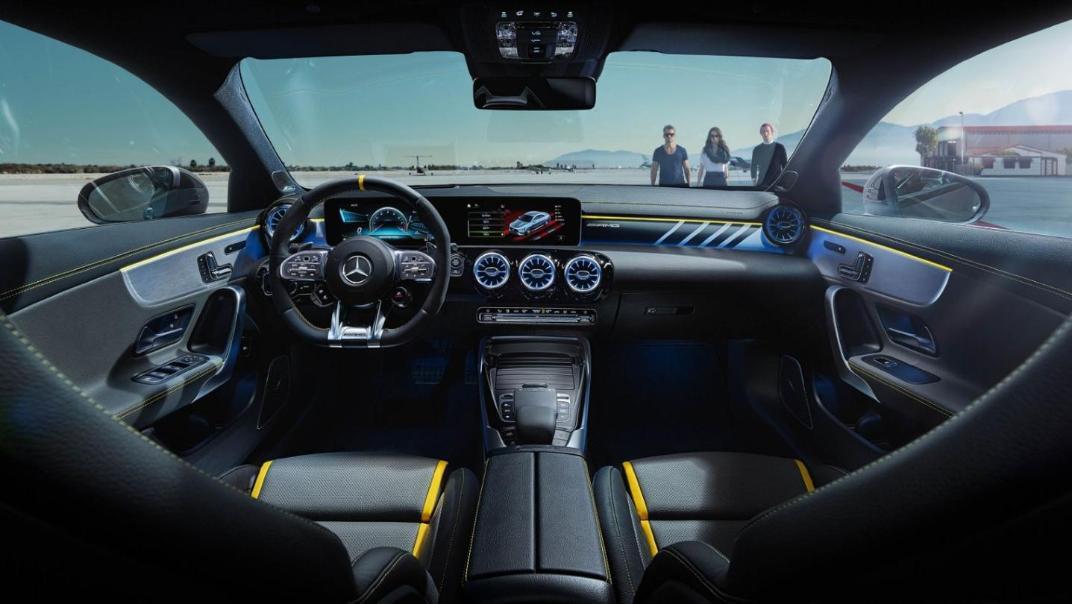 Mercedes-Benz CLA-Class Public 2020 Interior 001