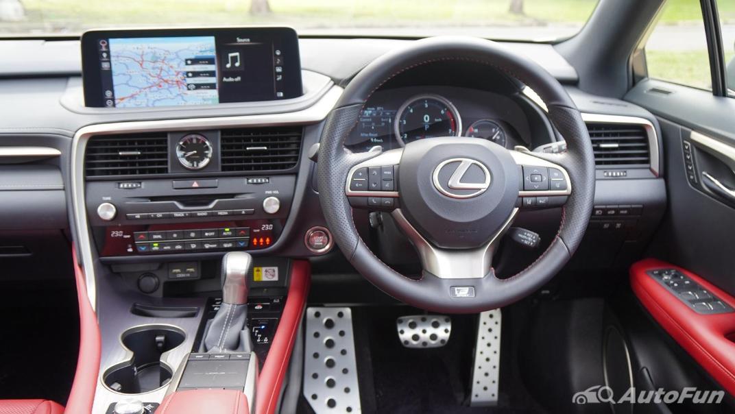 2020 Lexus RX 3.5 350 F Sport Interior 002