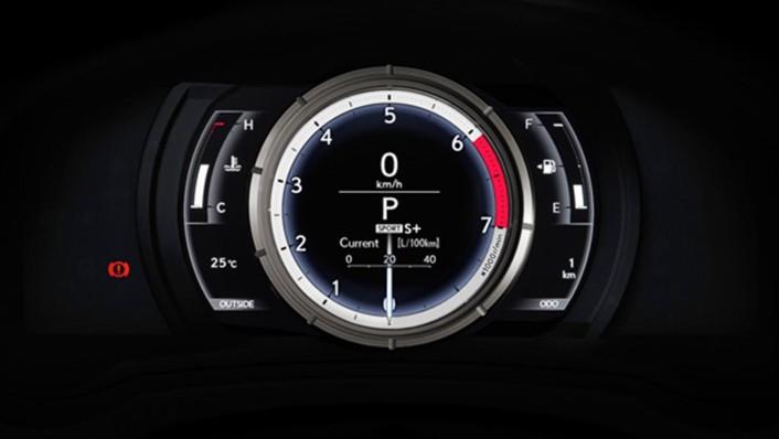Lexus RC 2020 Interior 003