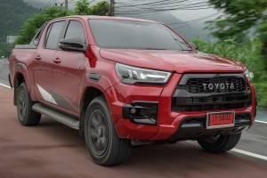 ลองขับ 2021 Toyota Hilux REVO GR Sport ปรับโช๊คใหม่ หน้าตาหล่อเหลา เอาใจชาวเมืองล่ะ!!!