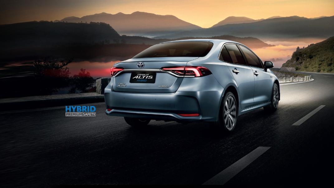 Toyota Corolla Altis 2021 Exterior 025