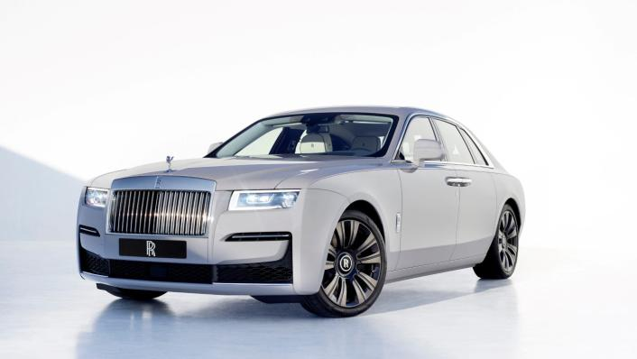 2021 Rolls-Royce Ghost Extended Exterior 002