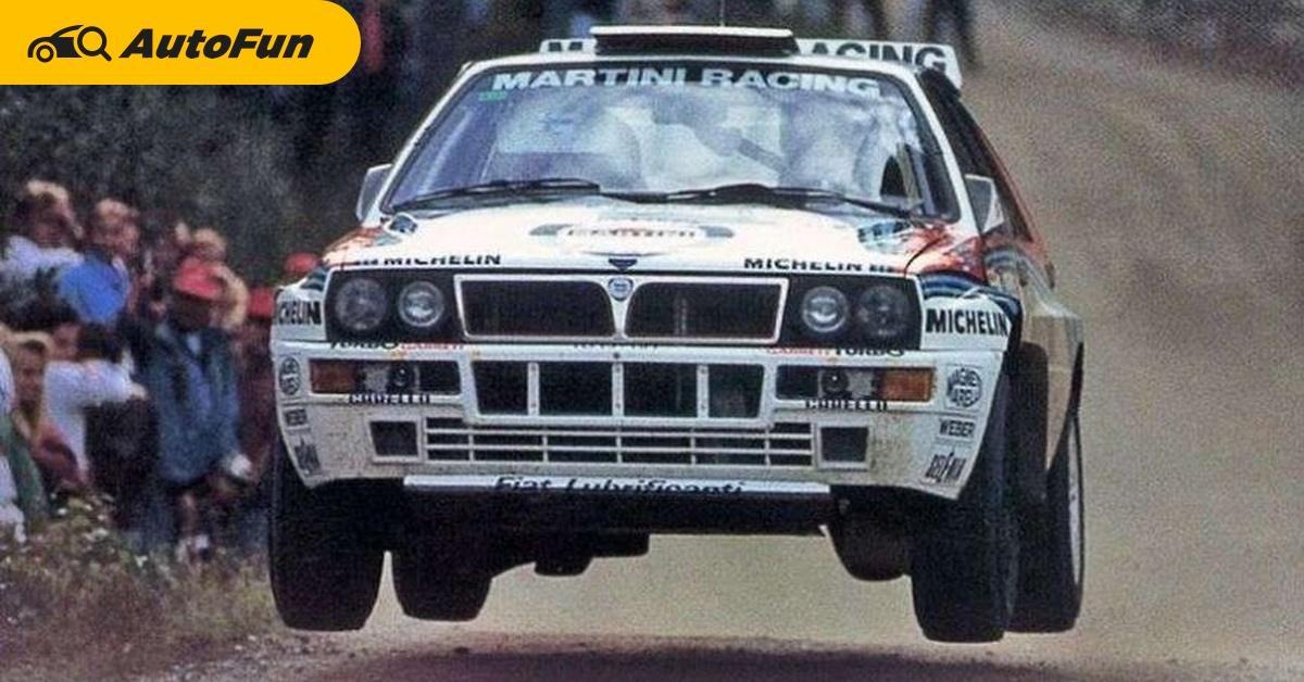 ย้อนชม Lancia Delta รถแรลลี่ระดับตำนาน ที่ร่วงหล่นหายไปตามกาลเวลา 01