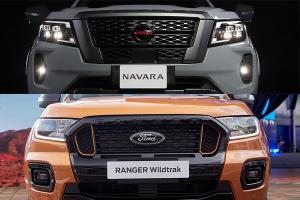 2021 Ford Ranger ชน 2021 Nissan Navara ปรับมาแล้วรุ่นไหนน่าจับจองมากกว่ากัน?