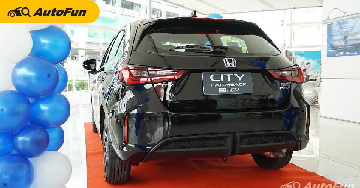 2021 Honda City Hatchback e:HEV เพิ่มออพชั่นจุใจ แต่ตัดยางอะไหล่ มีแค่ชุดปะยาง โอเคไหมนะ? 01