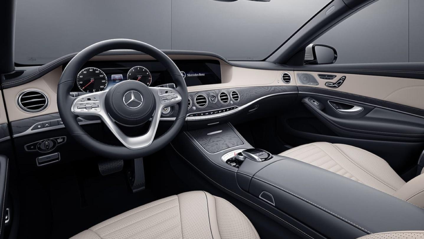Mercedes-Benz S-Class 2020 Interior 001
