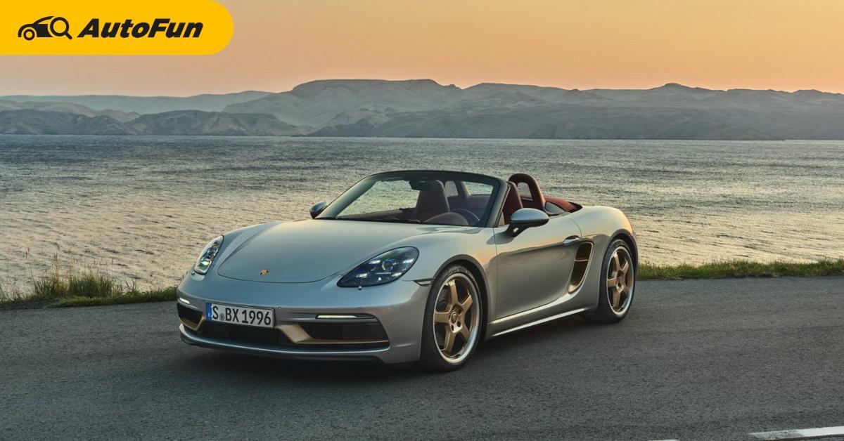 2021 Porsche Boxster 25 รุ่นเฉลิมฉลองครบรอบ 25 ปี รถสปอร์ตที่ช่วยชีวิต Porsche เอาไว้ 01