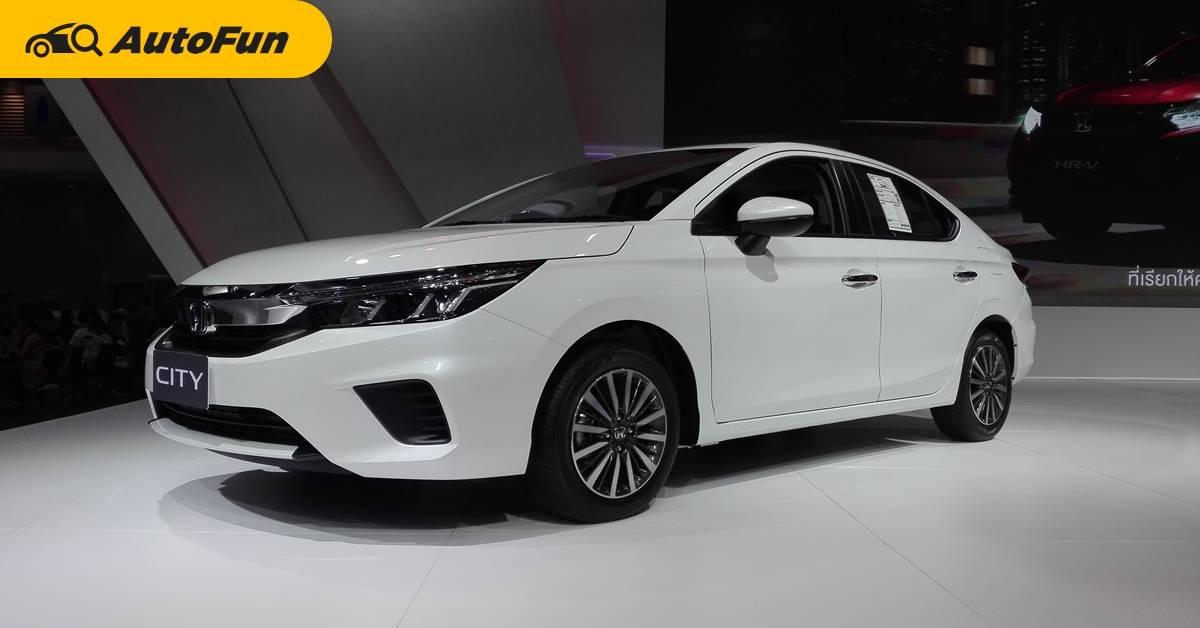 หรือซื้อเพียง 2021 Honda City SV รองท็อปก็เพียงพอแล้ว ไม่ต้องซื้อ RS ให้เปลือง 74,000 บาท 01