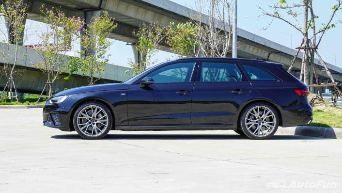 2020 Audi A4 Avant 2.0 45 TFSI Quattro S Line Black Edition Exterior 008