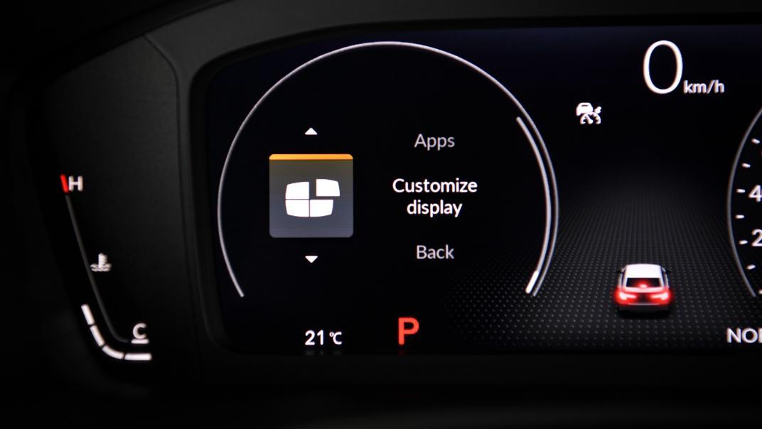 2022 Honda Civic RS Interior 042