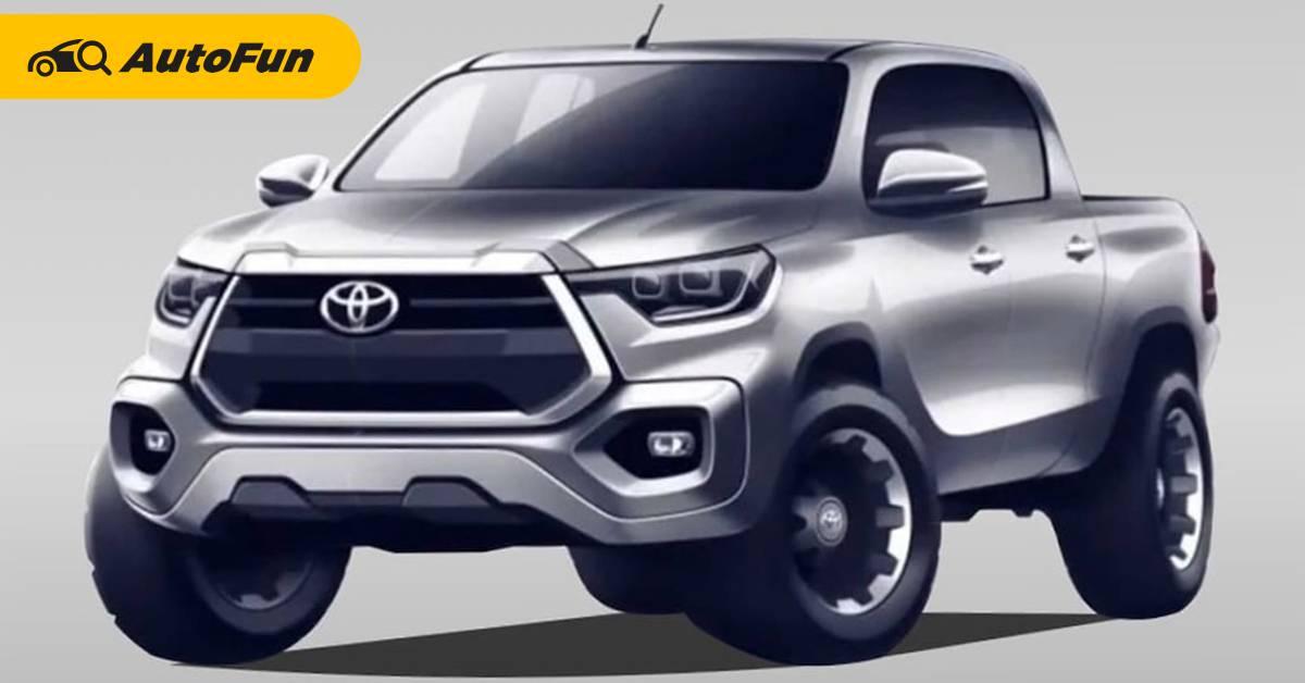 2024 Toyota Hilux Revo ใหม่ใช้แพลตฟอร์มเดียวกับ Tacoma อาจมีหน้าตาแบบนี้! 01