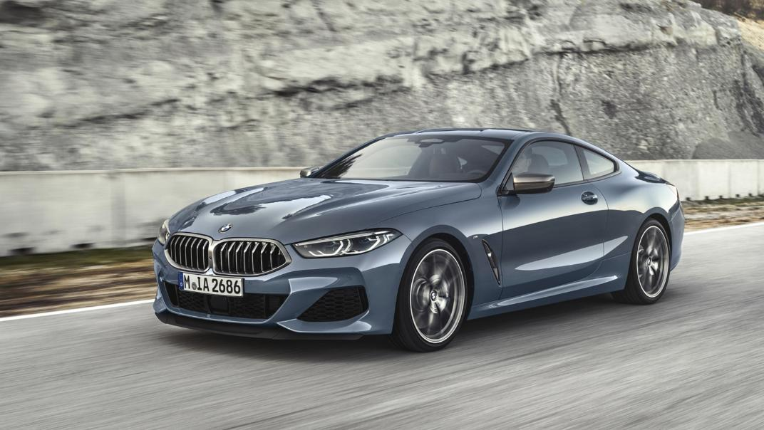 2021 BMW 8 Series Coupe M850i xDrive Exterior 011