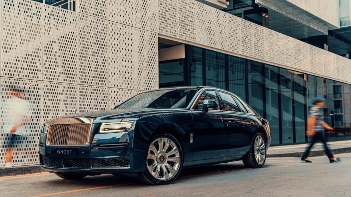 2021 Rolls Royce Ghost Exterior 002