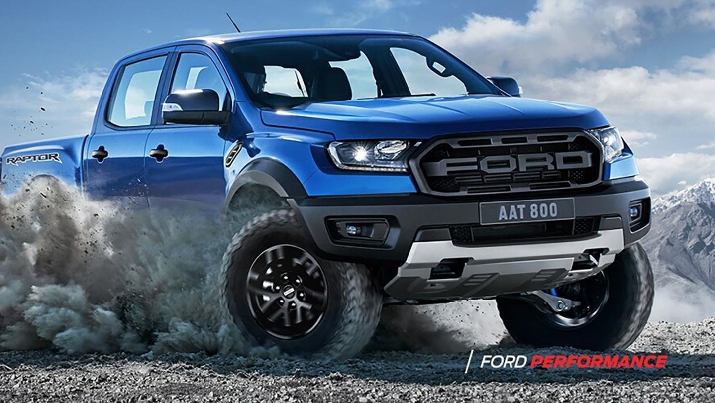 Ford Ranger Raptor 2020 Exterior 010
