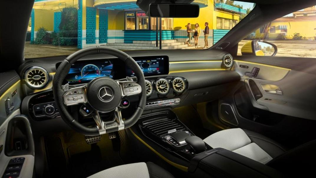 Mercedes-Benz CLA-Class Public 2020 Interior 004